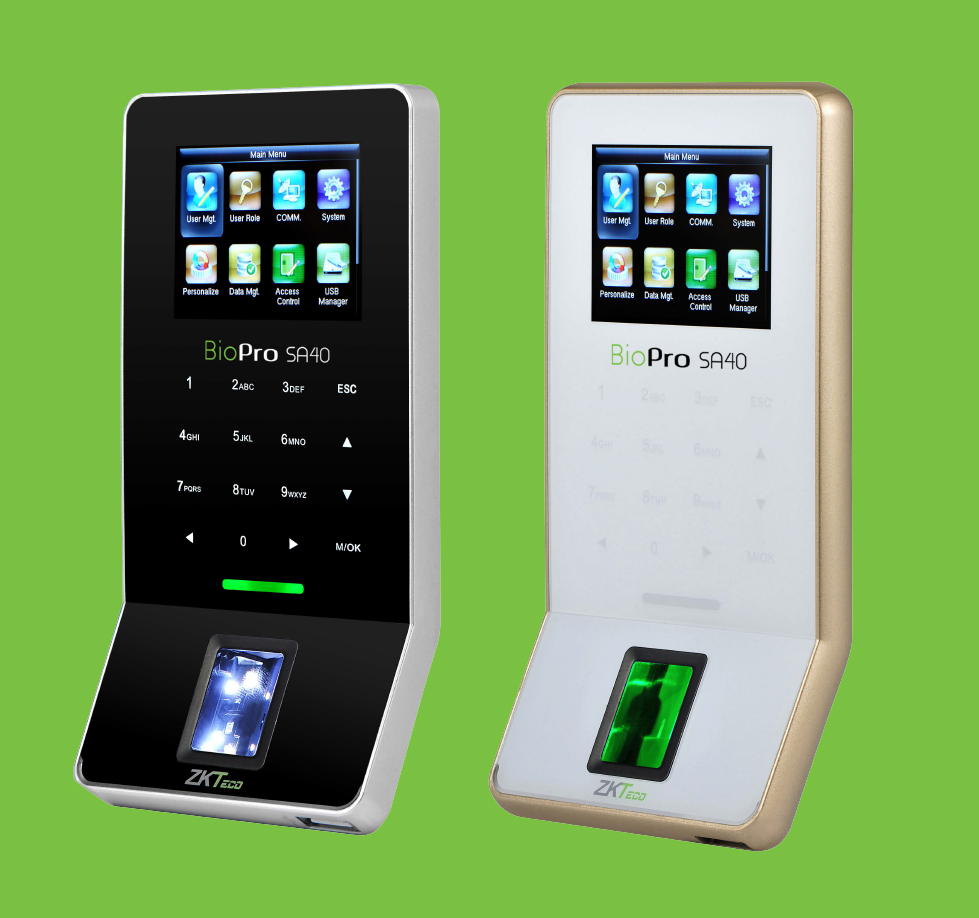 Biometric Access control security systems