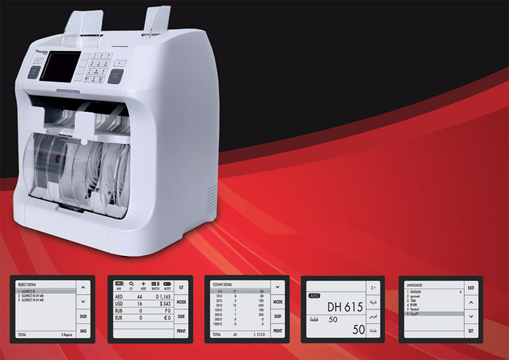 currency counting machine suppliers