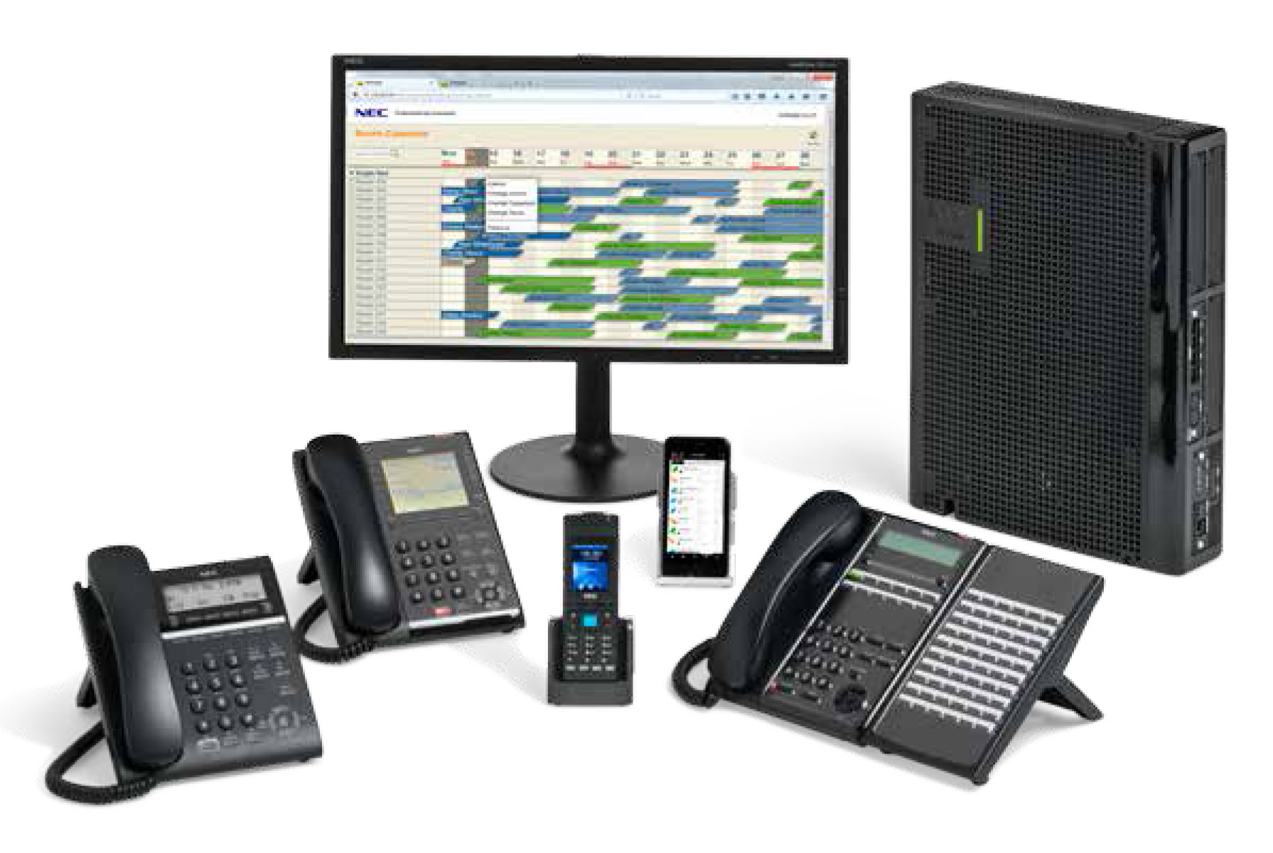 NEC SL2100-3 PABX System Dubai